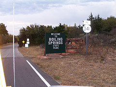 Exploring Oklahoma History: Boiling Springs State Park