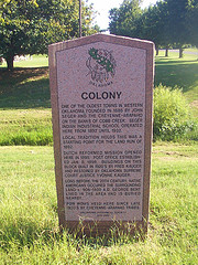 Exploring Oklahoma History: Colony