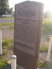 Exploring Oklahoma History: Tacola / Cloud Chief School