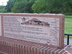 Lake Creek marker