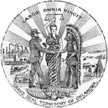 Grand Seal of the Territory of Oklahoma