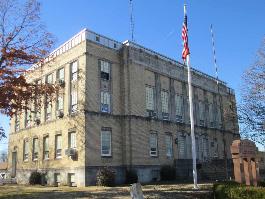 Exploring Oklahoma History: Adair County Courthouse