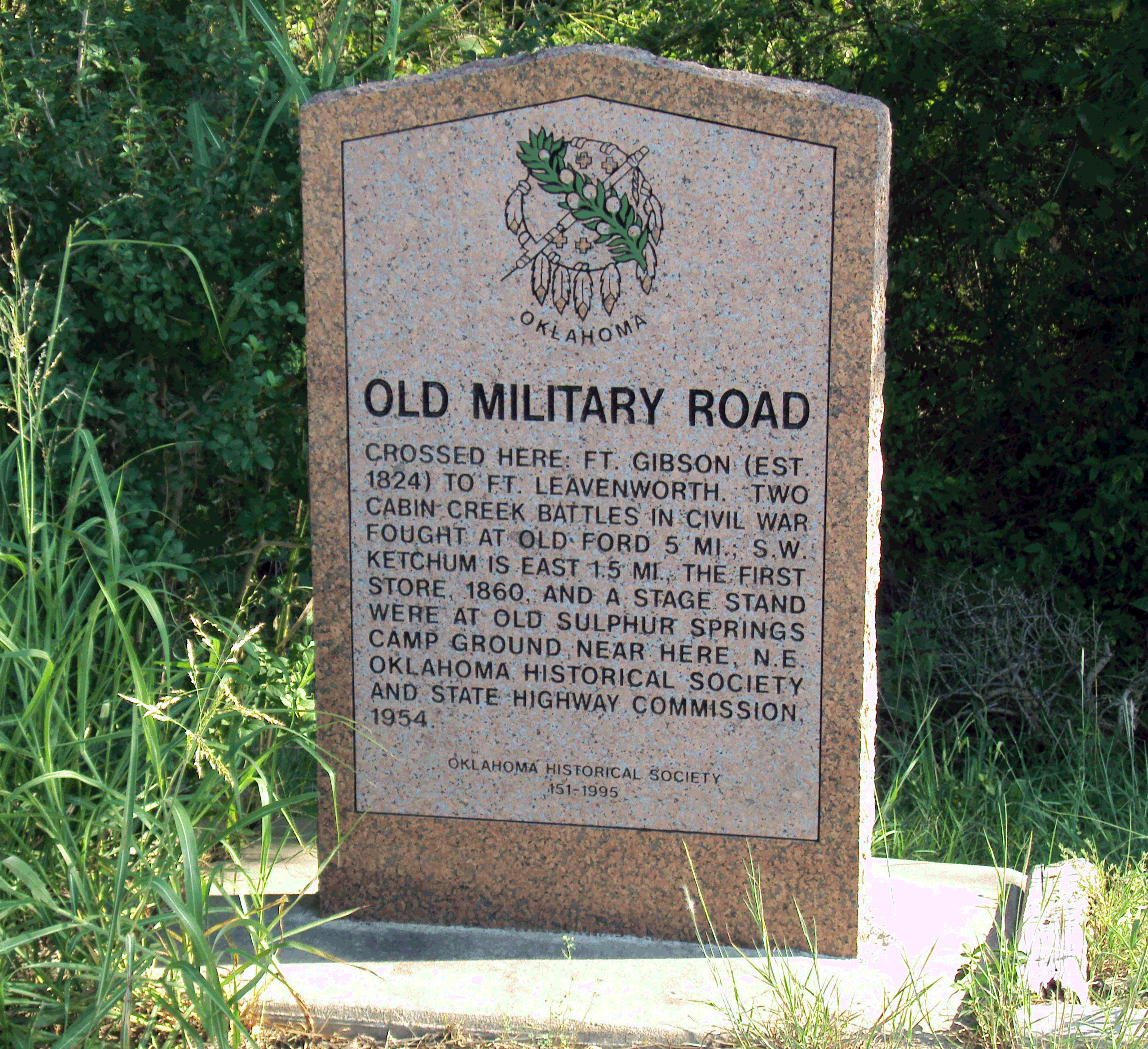 Exploring Oklahoma History: Old Military Road