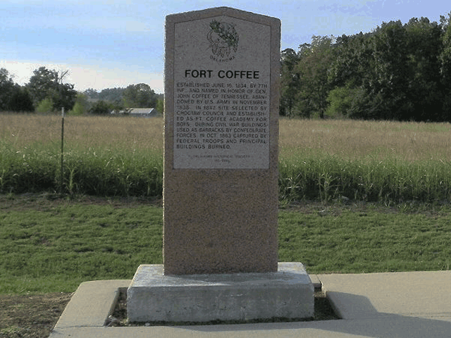 Exploring Oklahoma History: Fort Coffee