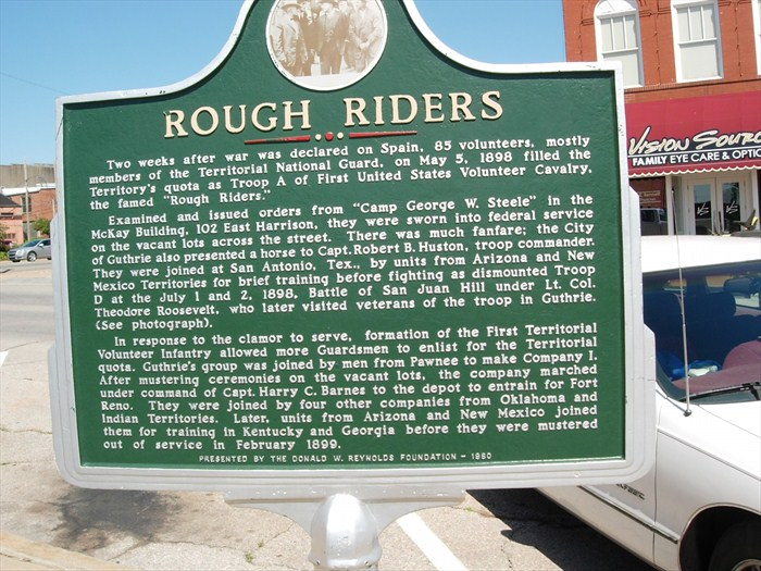 Exploring Oklahoma History: Rough Riders