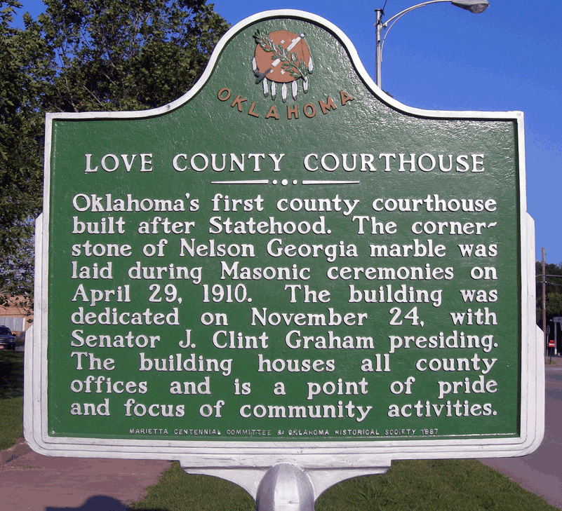 Exploring Oklahoma History: Love County Courthouse