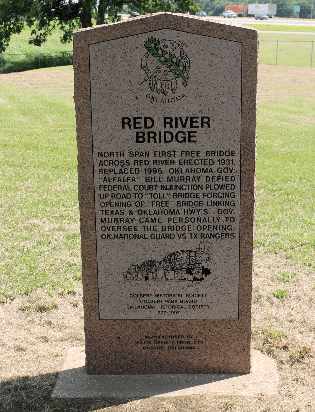 Exploring Oklahoma History: Red River Bridge