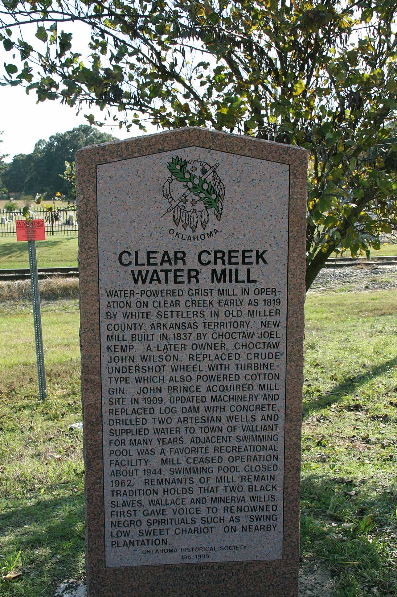Exploring Oklahoma History: Clear Creek Water Mill