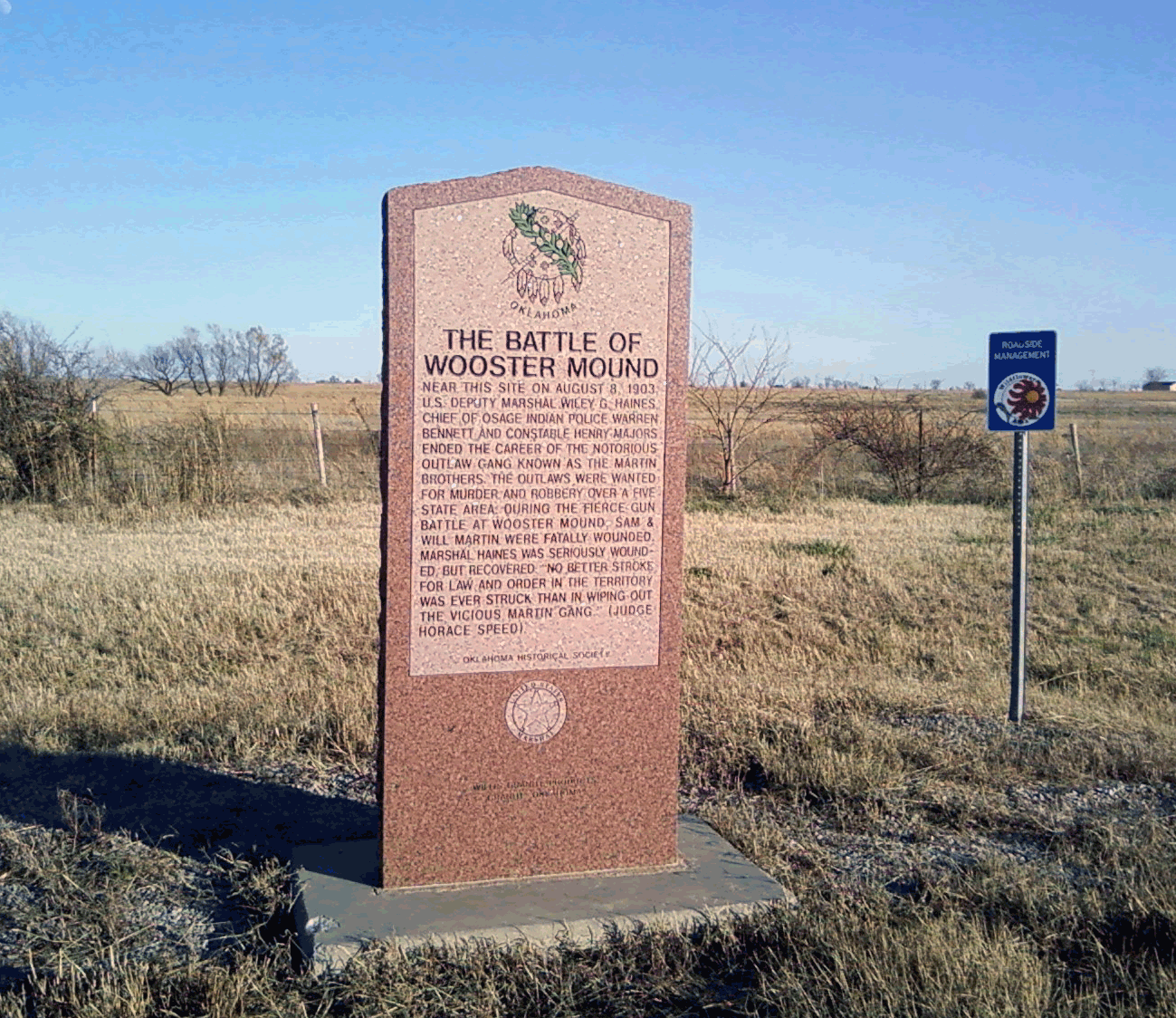 Exploring Oklahoma History: The Battle of Wooster Mound
