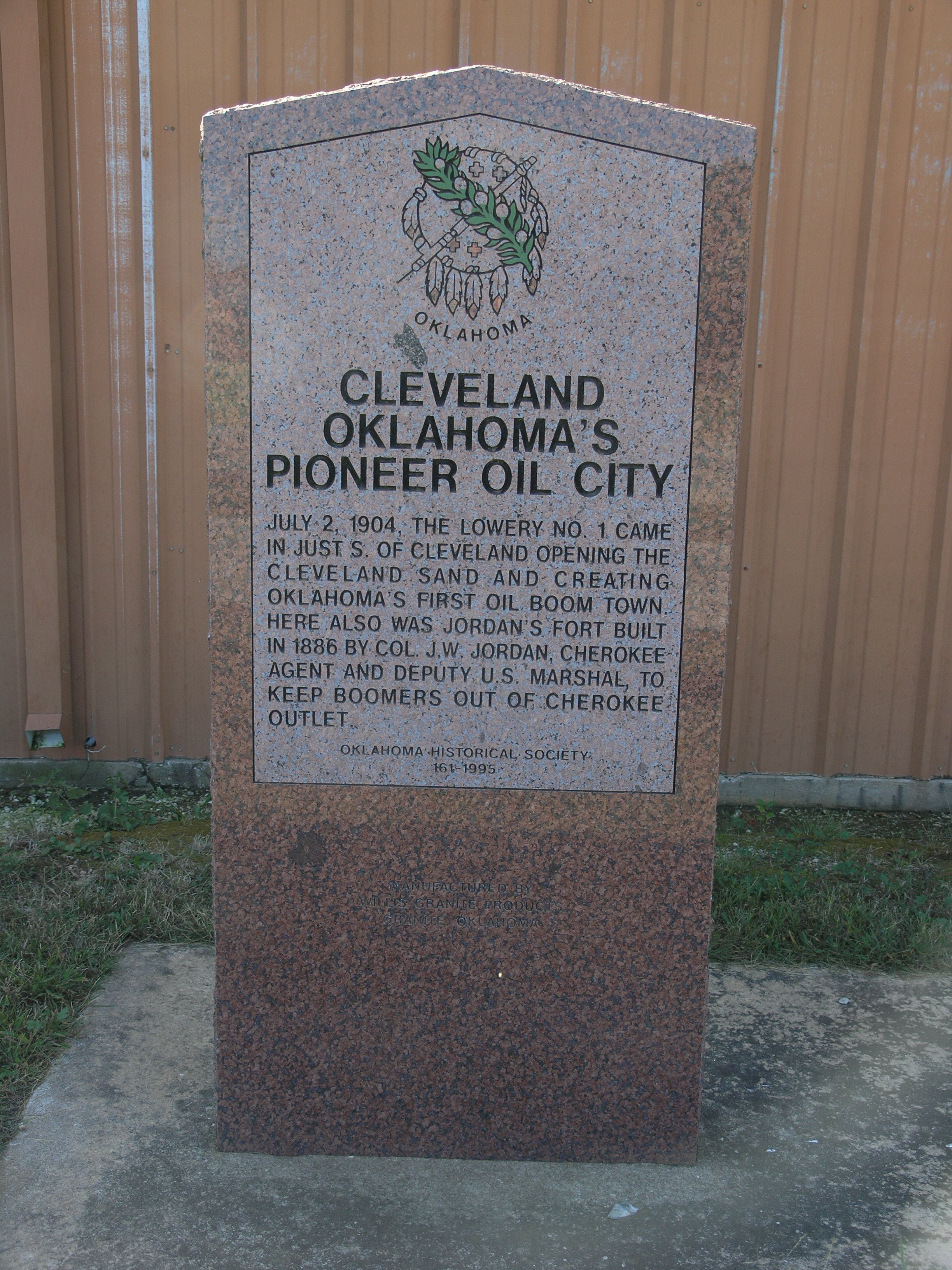 Exploring Oklahoma History: Cleveland - Pioneer Oil   City