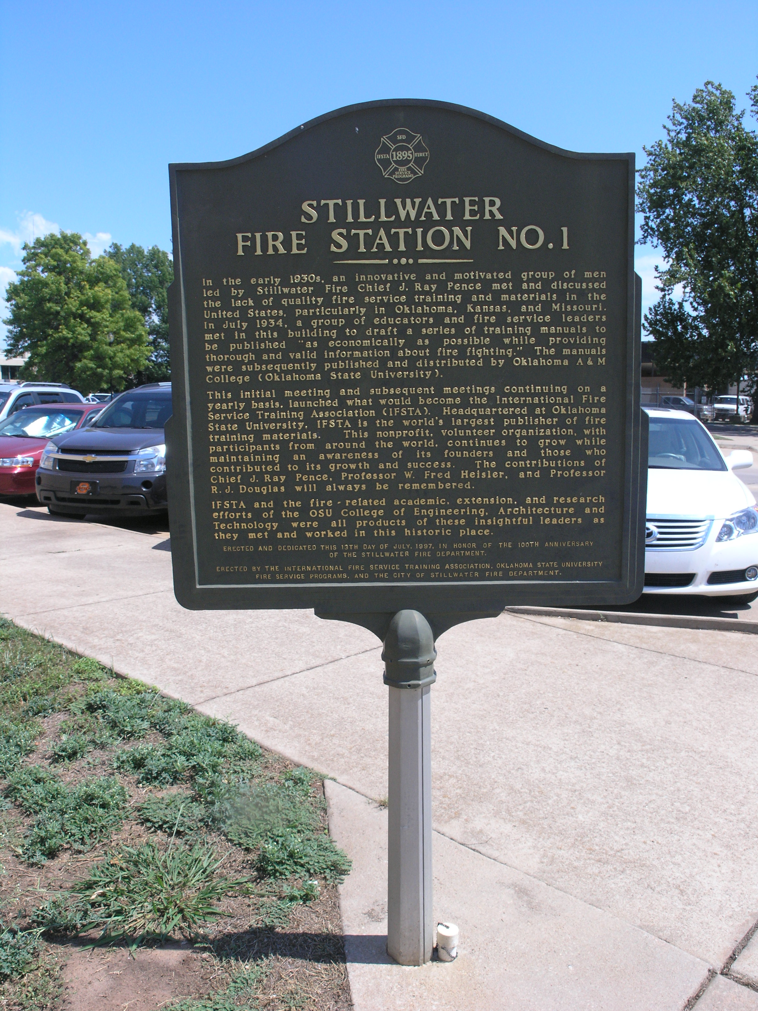 Exploring Oklahoma History: Stillwater Fire Station No. 1
