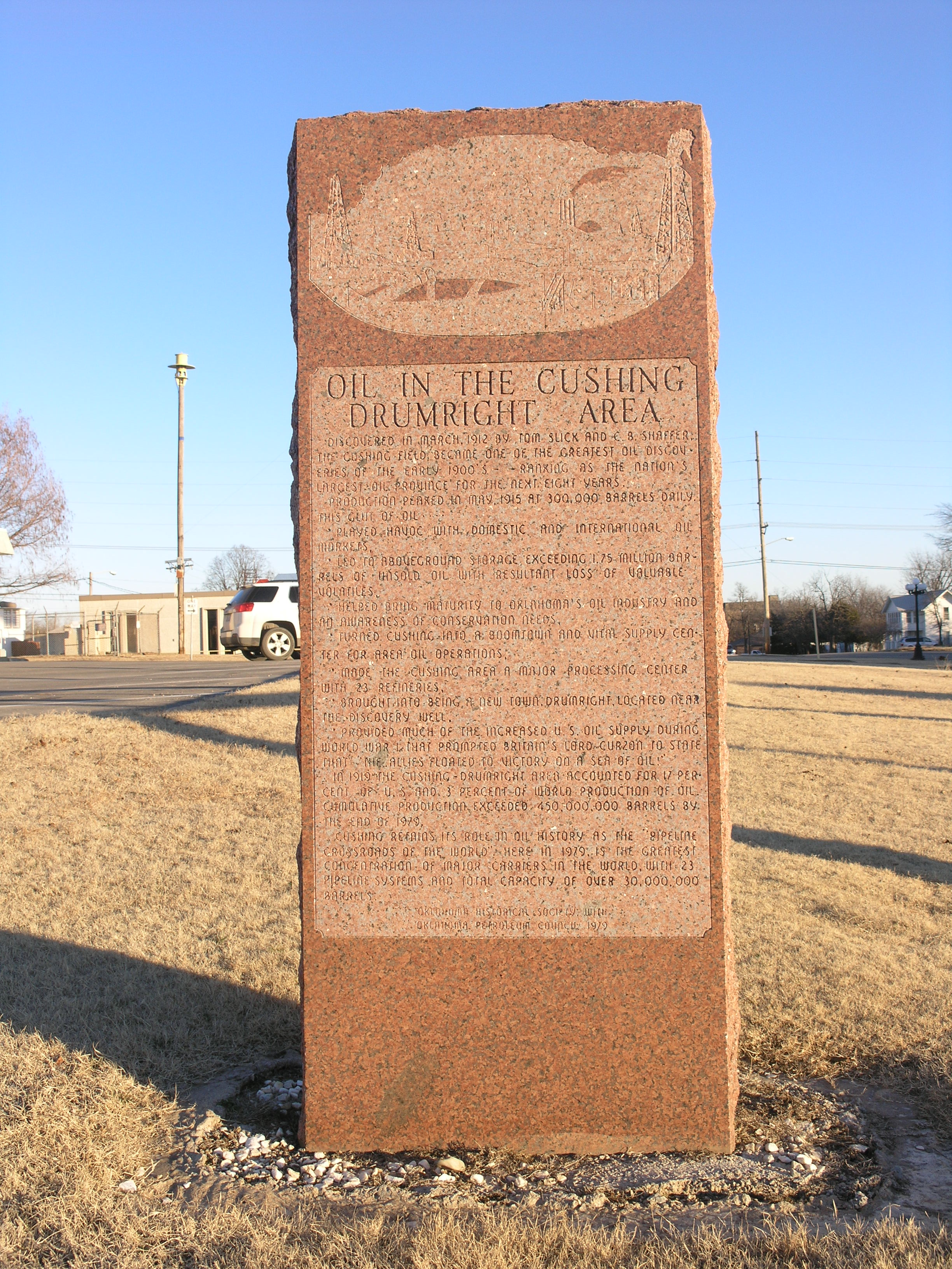 Exploring Oklahoma History: Oil in the Cushing - Drumright Area