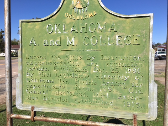 Exploring Oklahoma History: Oklahoma A and M College