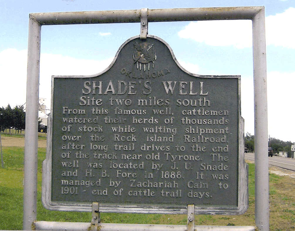 Exploring Oklahoma History: Shade's Well