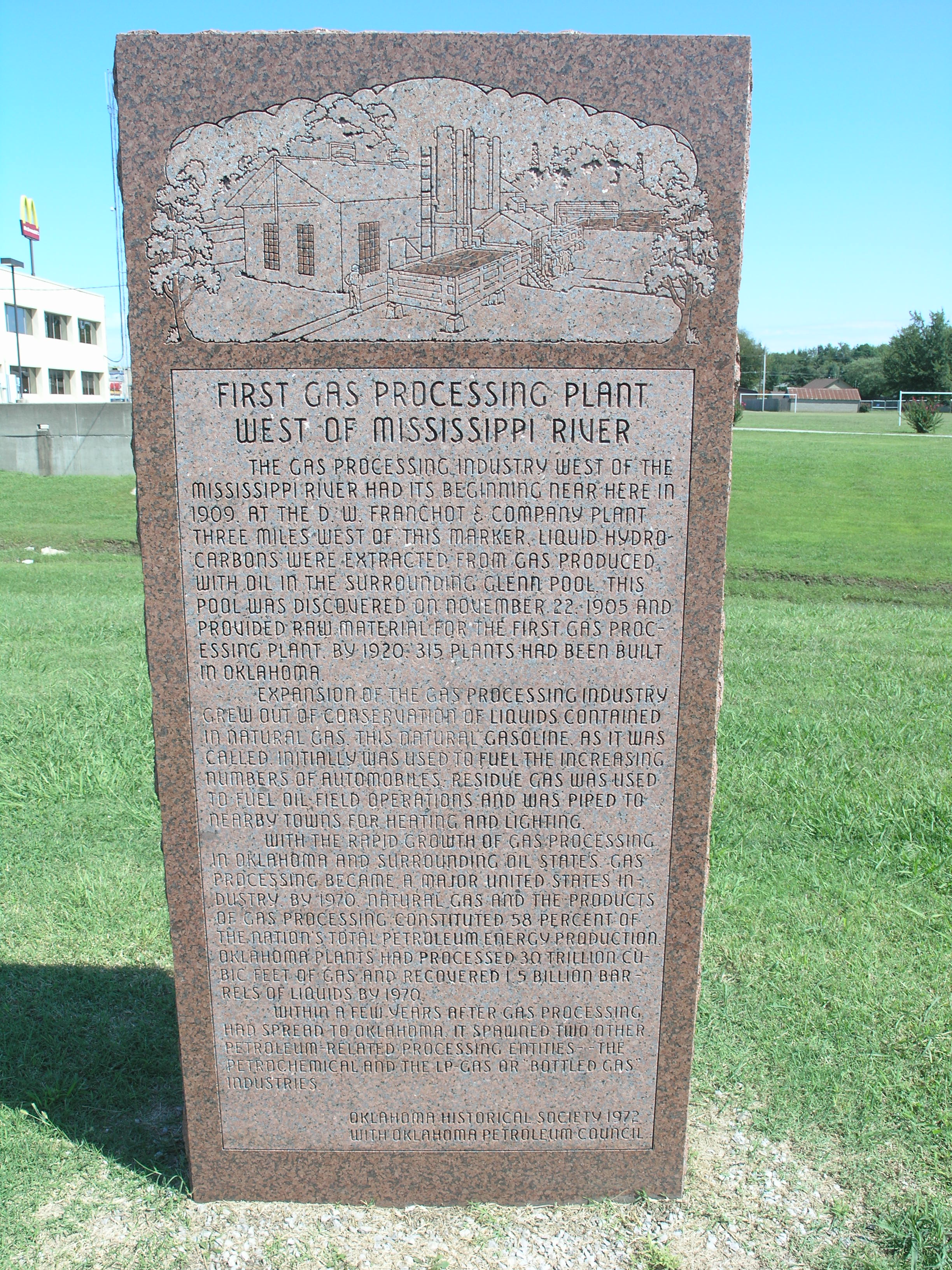 Exploring Oklahoma History: First Gas Processing Plant West of the Mississippi