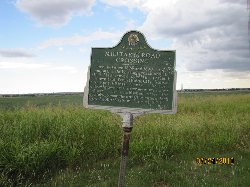 Exploring Oklahoma History: Military Road Crossing