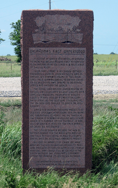 Exploring Oklahoma History: Oklahoma's First Waterflood