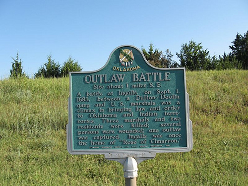 Exploring Oklahoma History: Outlaw Battle