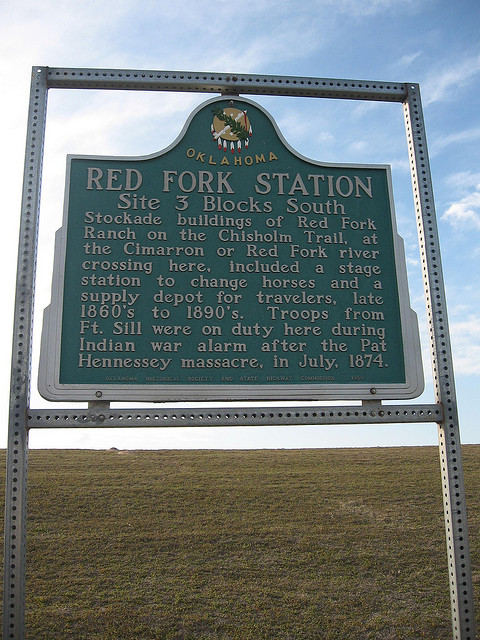 Exploring Oklahoma History: Red Fork Station