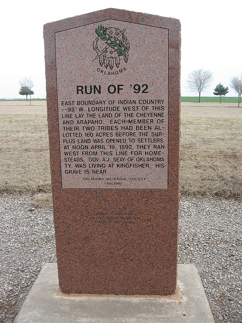 Exploring Oklahoma History: Run of '92