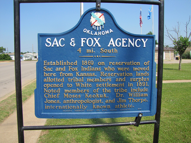 Exploring Oklahoma History: Sac & Fox Agency