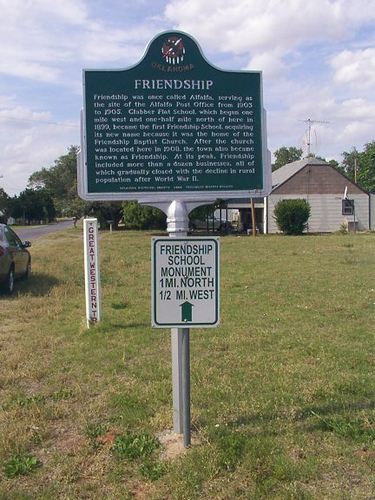 Exploring Oklahoma History: Friendship