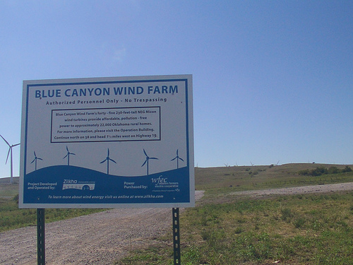 Exploring Oklahoma History: Blue Canyon Wind Farm