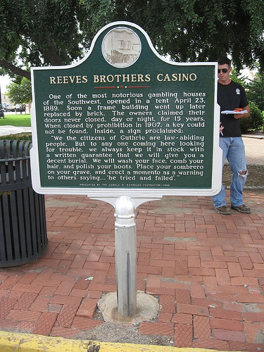 Exploring Oklahoma History: Reeves Brothers Casino