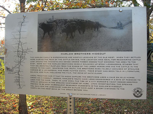 Exploring Oklahoma History: Marlow Brothers Hideout