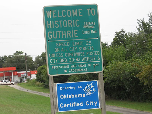 Exploring Oklahoma History: Guthrie Historic District