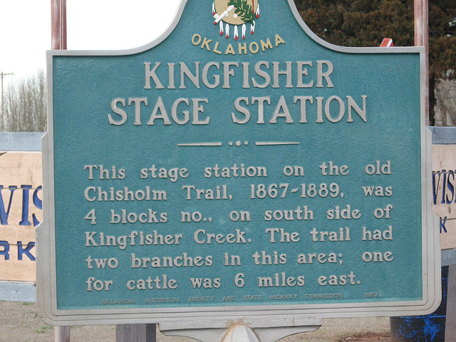 Exploring Oklahoma History: Kingfisher Stage Station