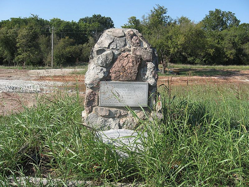 Exploring Oklahoma History: Chisholm Trail Crossing and Ted A. Gilbert  Memorial