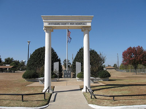 Exploring Oklahoma History: Pittsburg County War Memorial
