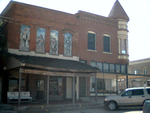 Exploring Oklahoma History: Amphlett Brothers Drug and Jewelry Store
