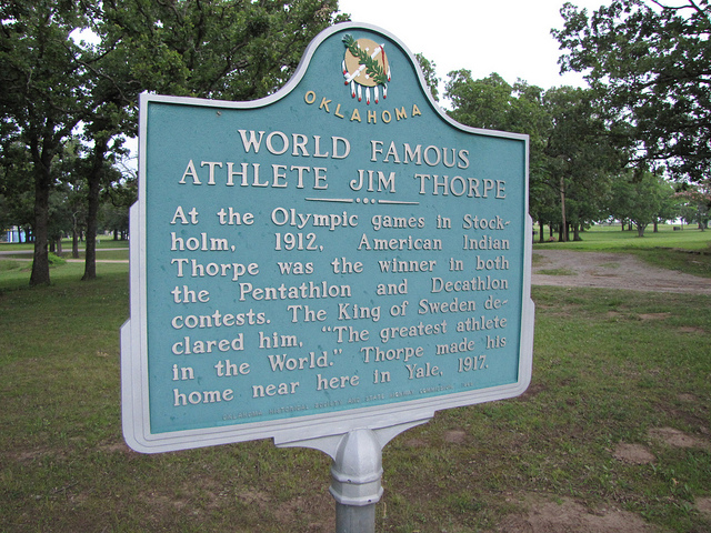 Exploring Oklahoma History: World Famous Athlete Jim Thorpe
