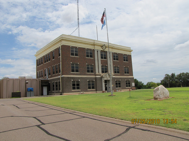 Exploring Oklahoma History: Harper County Courthouse