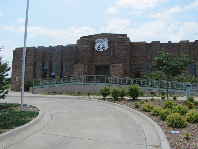 Exploring Oklahoma History: Chandler Armory / Route 66 Interpretive Center