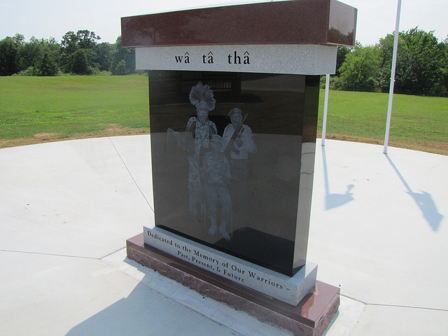 Exploring Oklahoma History: Sac & Fox Veterans Memorial
