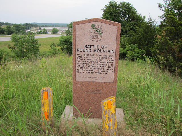 Exploring Oklahoma History: Battle of Round Mountain