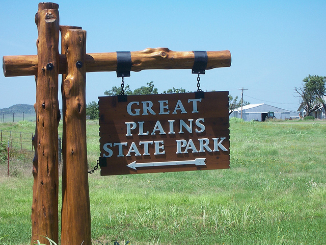 Exploring Oklahoma History: Great Plains State Park / Tom Steed Lake