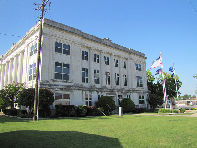 Exploring Oklahoma History: Marshall County Courthouse
