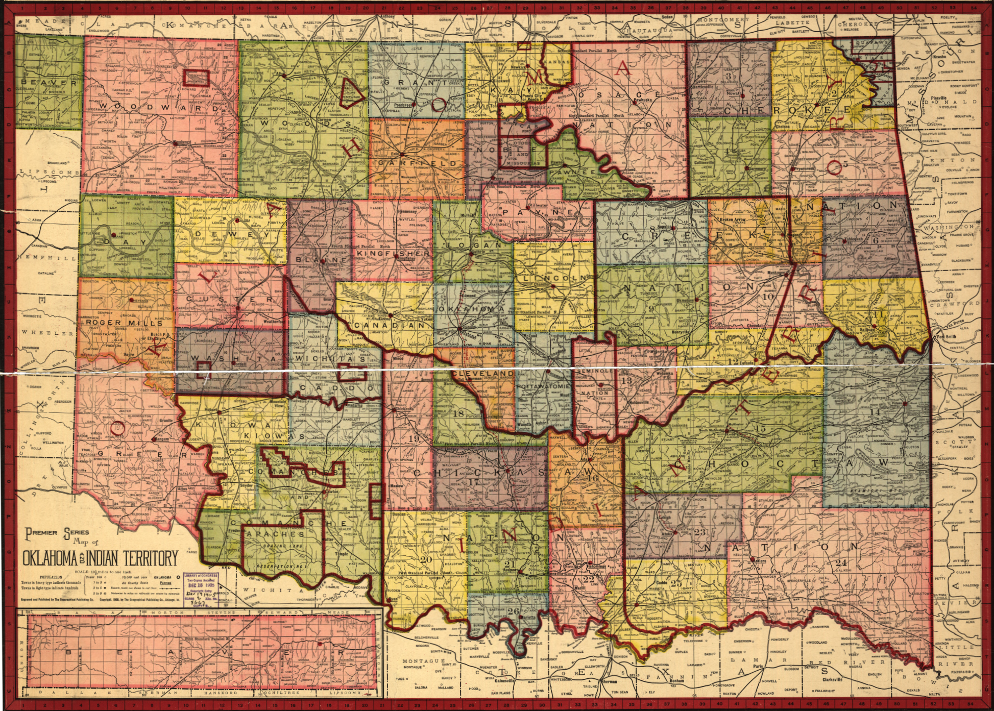 Exploring Oklahoma History Map Of Oklahoma And Indian - Map of indian nations in the us